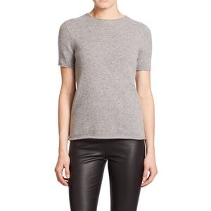 Theory Tolleree Cashmere Top in Gray XS